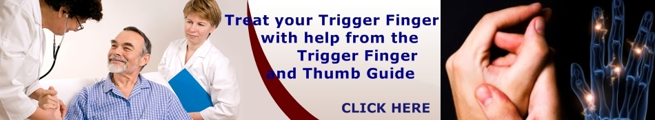 Trigger Finger Banner 3 Trigger finger exercises help to maintain finger mobility