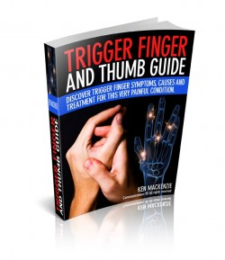 Trigger finger and thumb guide